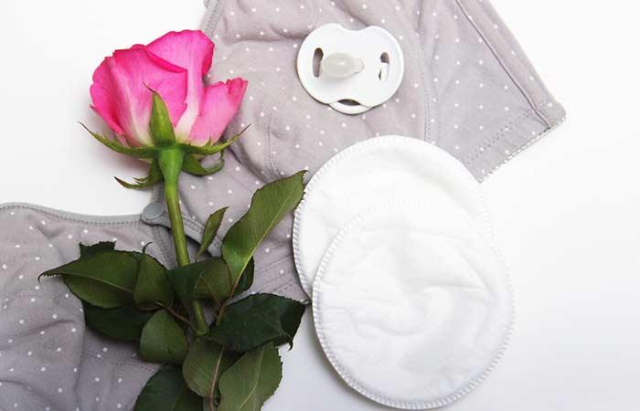 Cloth Nursing Pads As Makeup Removal Tools