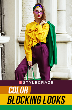Color Blocking Looks