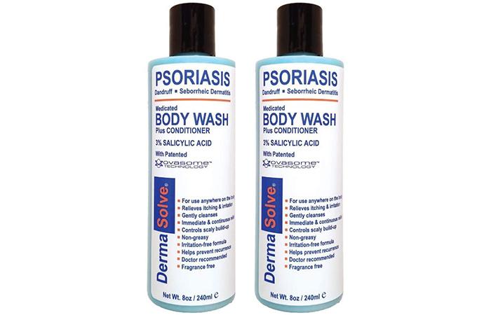 DermaSolve Medicated Body Wash Plus Conditioner