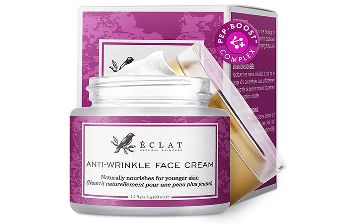 Eclat Natural Skincare Anti-Wrinkle Face Cream