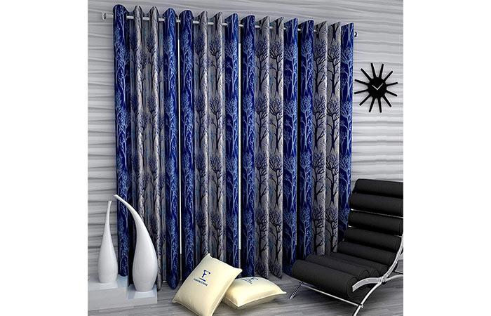 Fashion String 4 Pieces Door Curtain Set