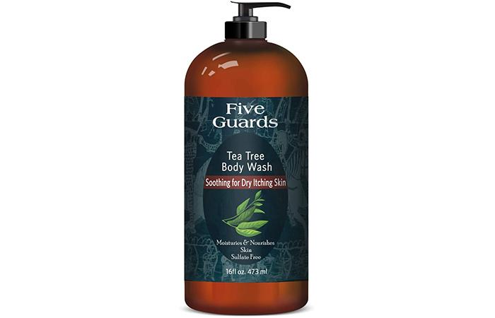 Five Guards Tea Tree Body Wash