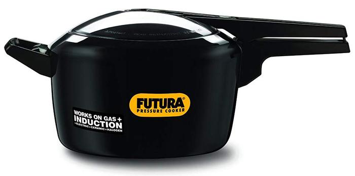Futura Hard Anodised Pressure Cooker