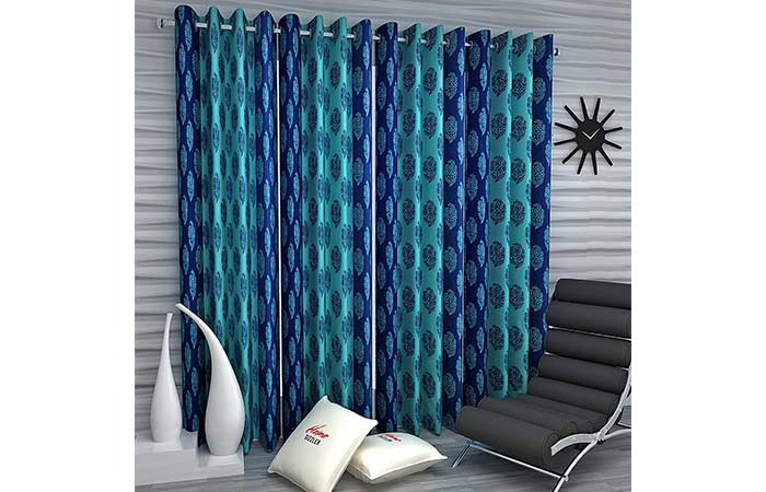 Home Sizzler Polyester Window Curtain Set