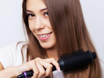 How To Use A Hair Straightener Brush