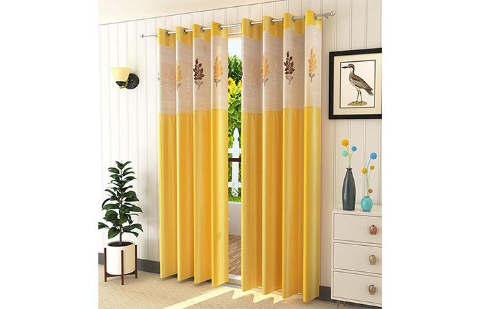 LaVichitra Polyester Door Curtain