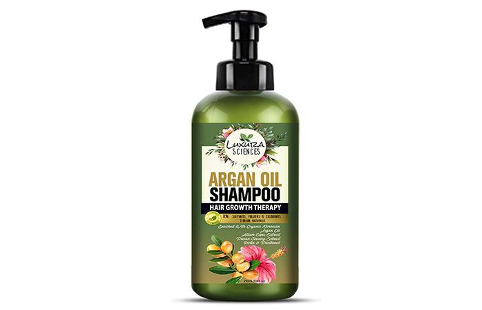 Luxura Sciences Argan Oil Shampoo