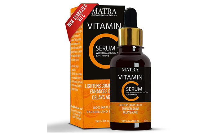 Matra Vitamin C Serum With Hyaluronic Acid Vitamin E