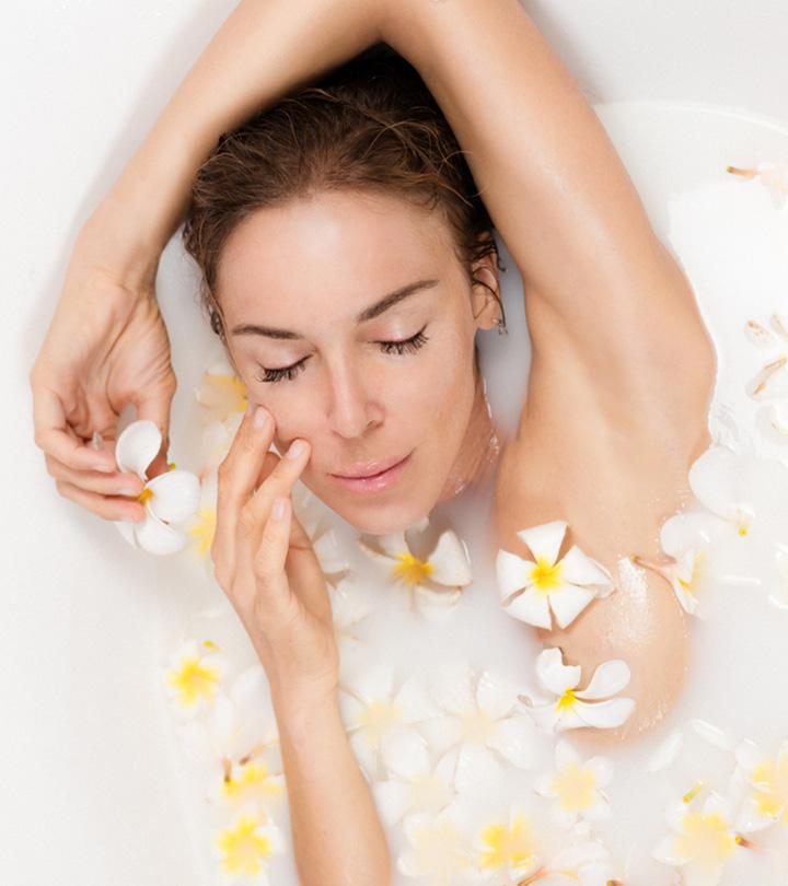 5 Milk Bath Recipes To Get Moisturized And Glowing Skin