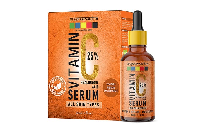 Organix Mantra Vitamin C 25 Hyaluronic Acid Serum