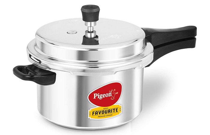 Pigeon By Stovekraft Aluminum Pressure Cooker