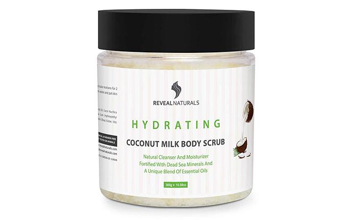 Reveal Naturals Hydrating Coconut Milk Body Scrub