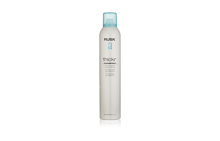 Rusk Thickr Hairspray