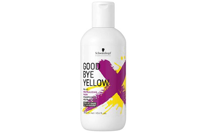 Schwarzkopf Good Bye Yellow Neutralizing Shampoo