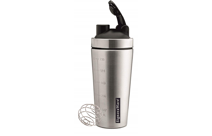 Signoraware Charger Steel Shaker