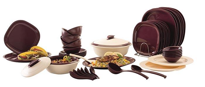 Signoraware Plastic Dinner Set