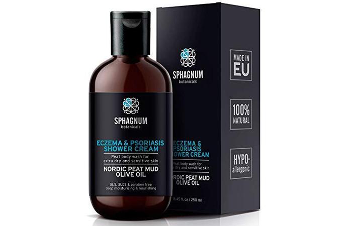 Sphagnum Botanicals Eczema And Psoriasis Shower Cream