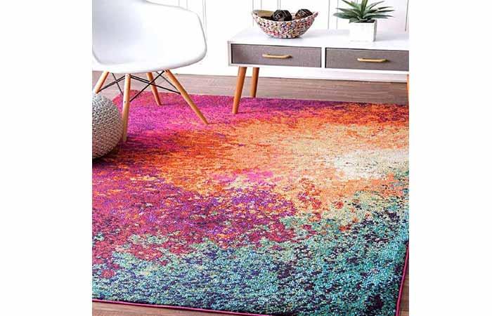 Status Multi printed Vintage Persian Carpet
