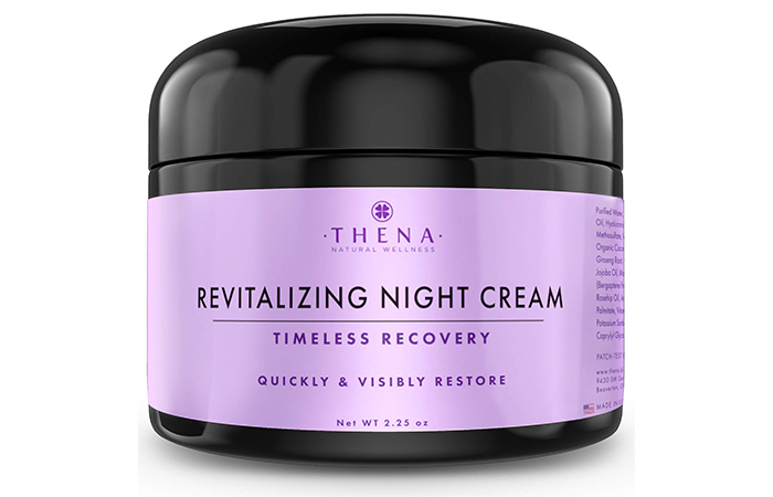THENA Natural Wellness Revitalizing Night Cream