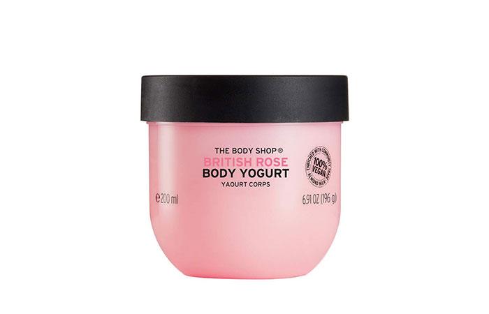 The Body Shop British Rose Body Yogurt