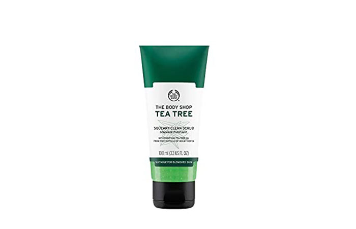 The Body Shop Tea Tree Daily Scrub