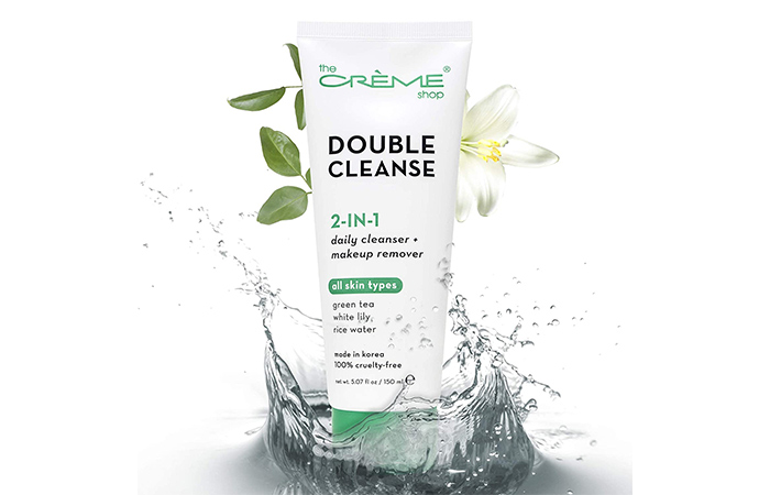 The Crème Shop Double Cleanse 2-In-1 Daily Cleanser
