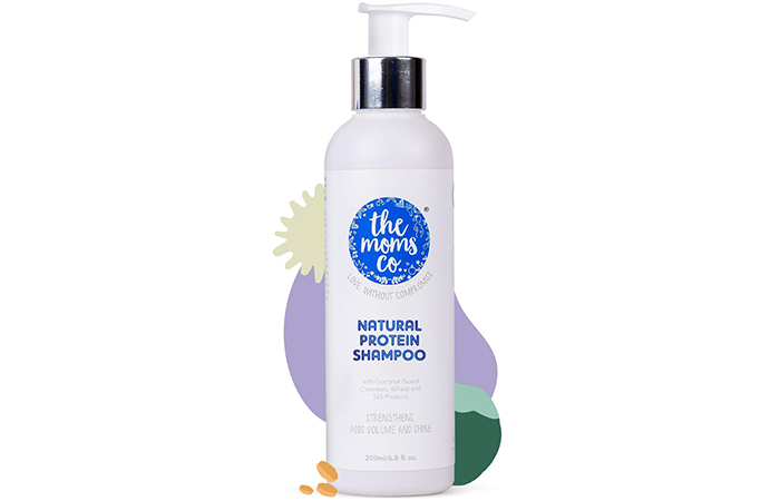 The Moms Co Natural Protein Shampoo