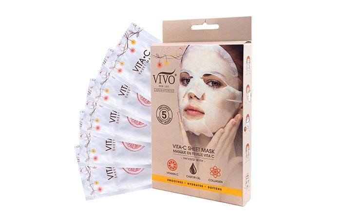 Vivo Per Lei Laboratories Vitamin C Serum Sheet Mask