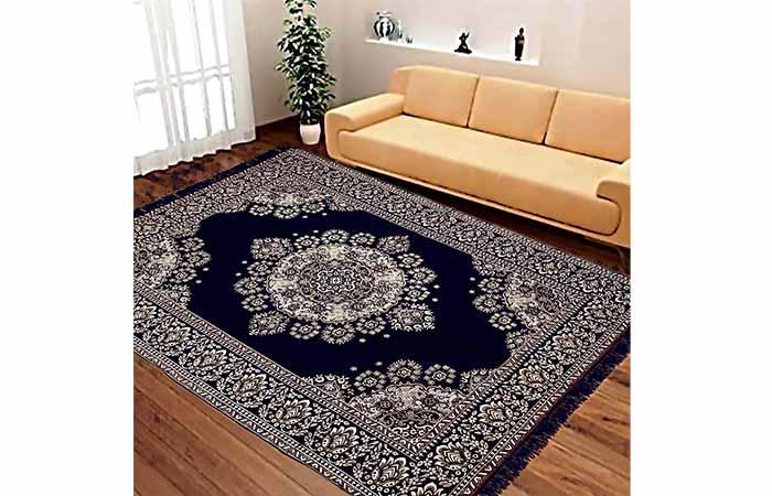 Vram 6D Designer Velvet Carpet