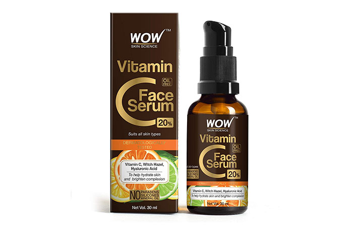 WOW Skin Science Vitamin C 20 Face Serum