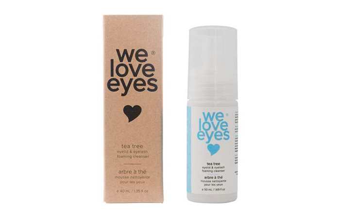 We Love Eyes Eyelid & Eyelash Tea Tree Foaming Cleanser