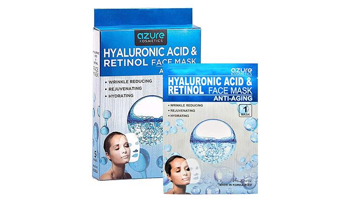 azureKosmeticsHyaluronic Acid & Retinol Face Mask