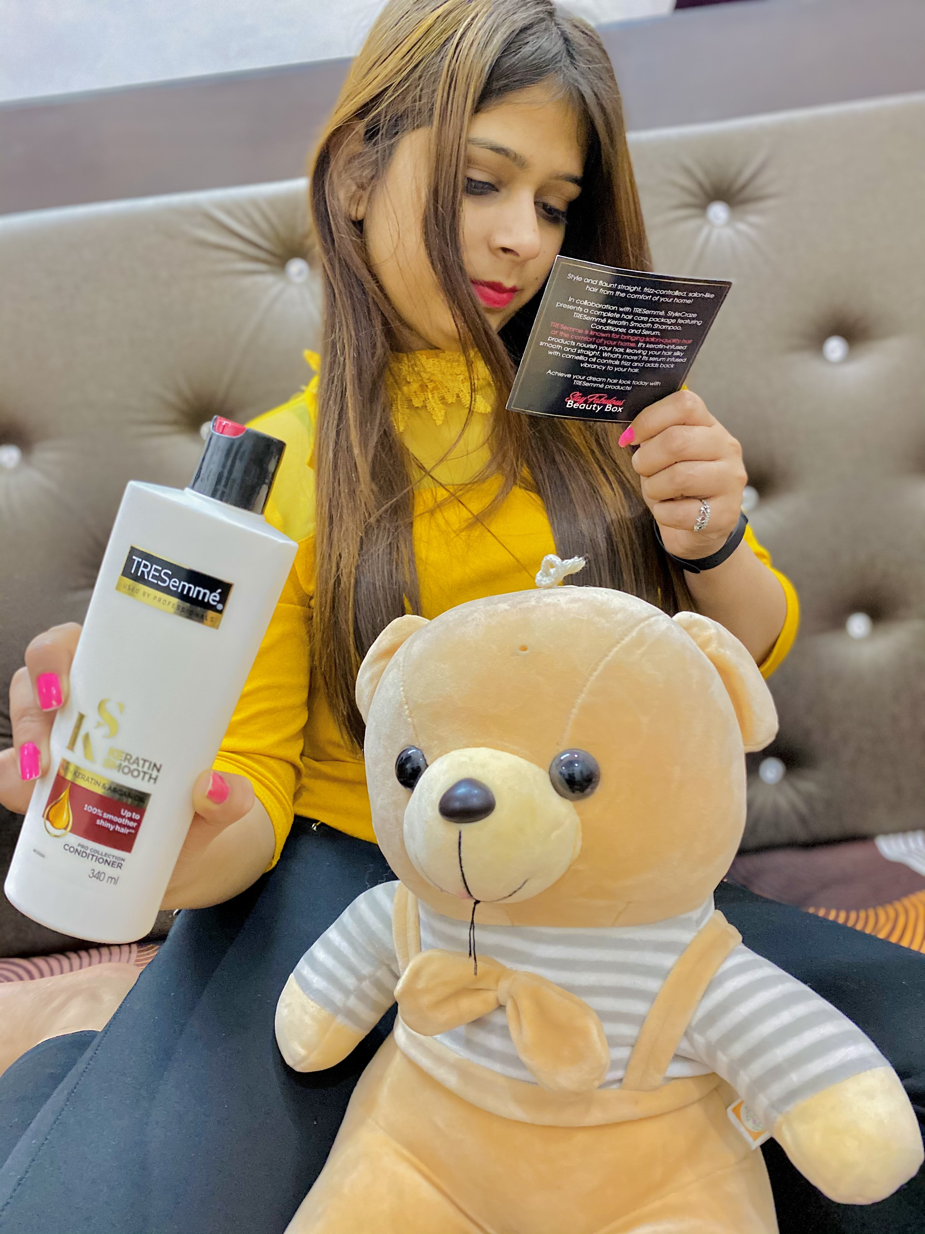 Tresemme Smooth and Shine Conditioner -Features fir hair-By sonia_saini