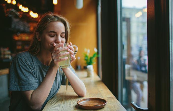 blonde-enjoying