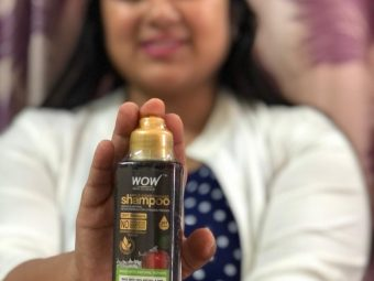 WOW Skin Science Apple Cider Vinegar Shampoo – No Parabens & Sulphate – 300 ml -Shiny and healthy-By akshita_agrawal