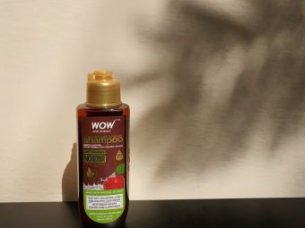 WOW Skin Science Apple Cider Vinegar Shampoo – No Parabens & Sulphate – 300 ml pic 1-As the brand name itself, the product is just Wow!-By praveena_s