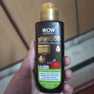 WOW Skin Science Apple Cider Vinegar Shampoo – No Parabens & Sulphate – 300 ml -Worth It-By languilu_rongmei