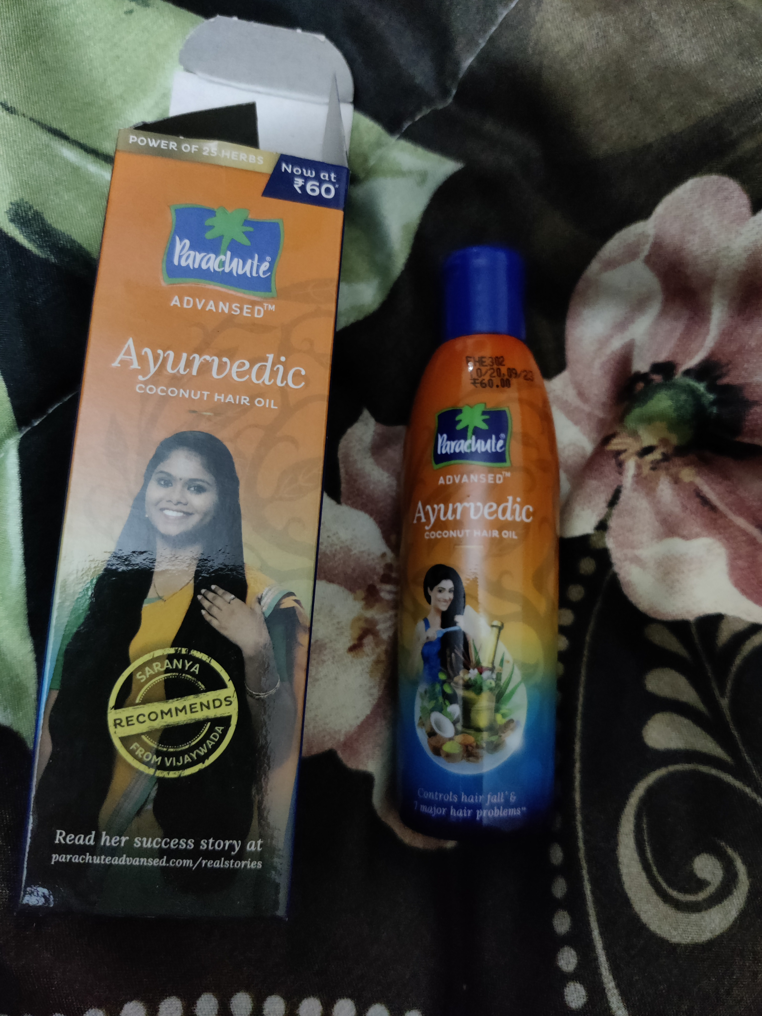 Parachute Advansed Ayurvedic Coconut Hair Oil -Best oil for post delivery hair fall-By mommynsaanjh