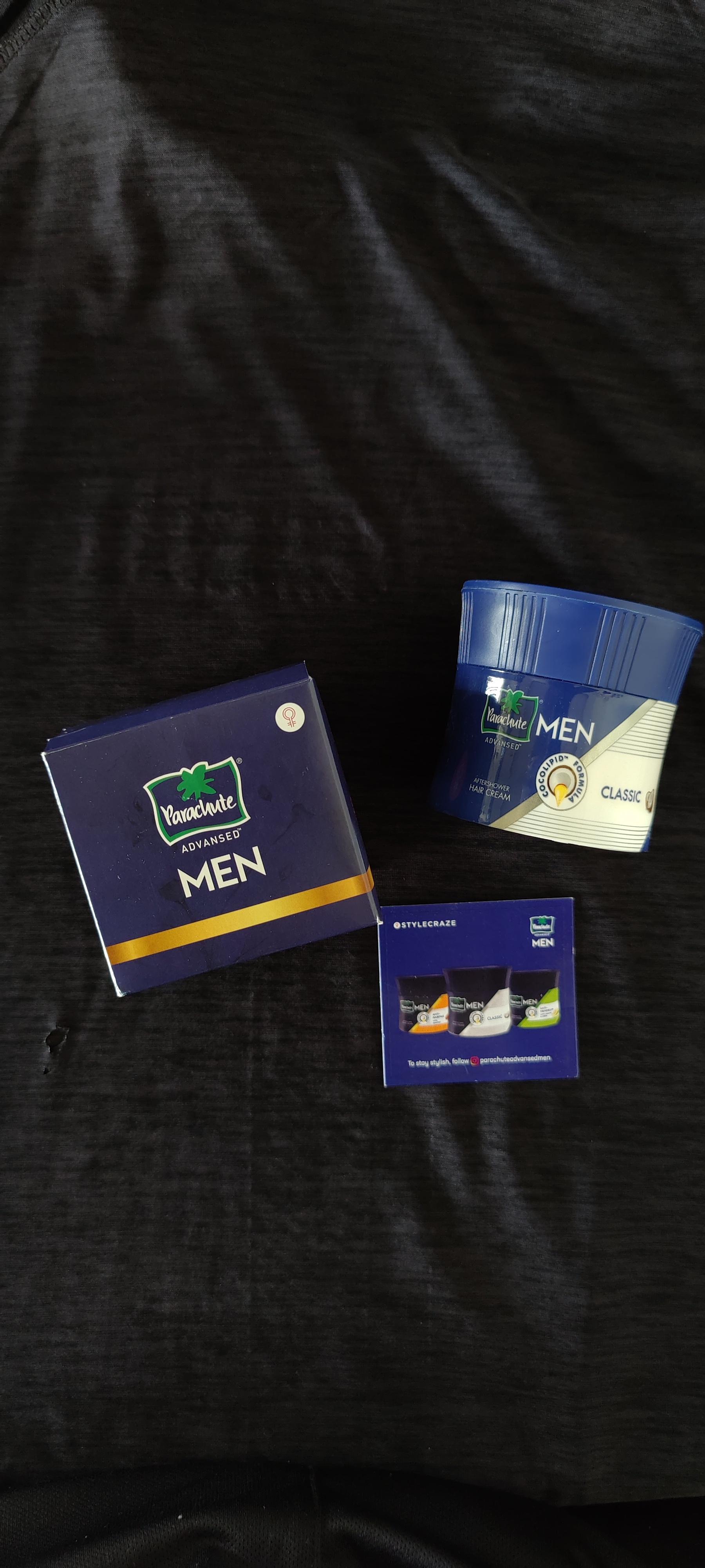 Parachute Advansed Men After Shower Hair Cream, Classic -After shower hair cream-By suraj_mandal