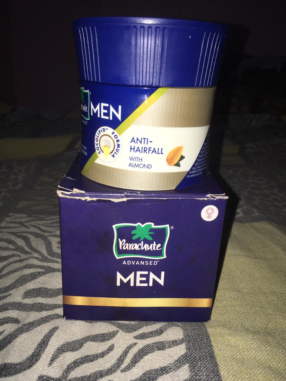 Parachute Advansed Men Anti Hairfall Hair Cream, With Almond Oil -Best Product i have ever use-By kunal_jha