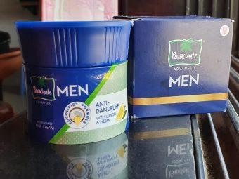 Parachute Advansed Men Anti Dandruff Hair Cream, With Lemon & Neem -Just loved it, worth buying-By janhavi_patel