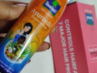 Parachute Advansed Ayurvedic Coconut Hair Oil -Always Best-By himani.arya