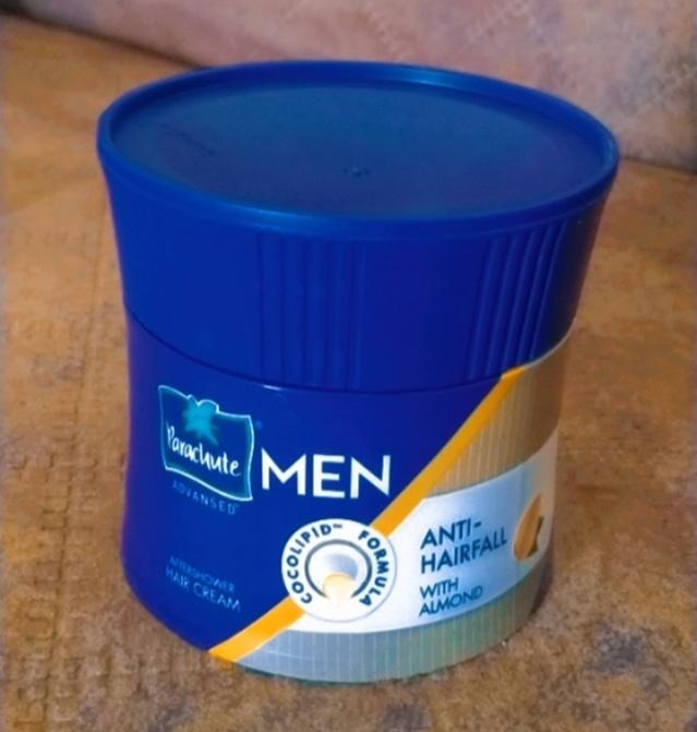 Parachute Advansed Men Anti Hairfall Hair Cream, With Almond Oil -Best product-By kiran_suthar