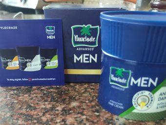 Parachute Advansed Men Anti Dandruff Hair Cream, With Lemon & Neem -Non Sticky Hair Cream-By globe_trotter