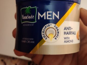 Parachute Advansed Men Anti Hairfall Hair Cream, With Almond Oil -Highly recommendable-By sawan_pawar