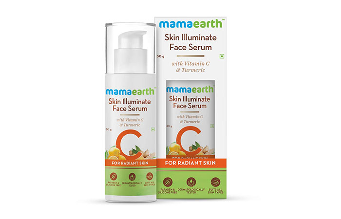 mama earth Skin Illuminate Face Serum