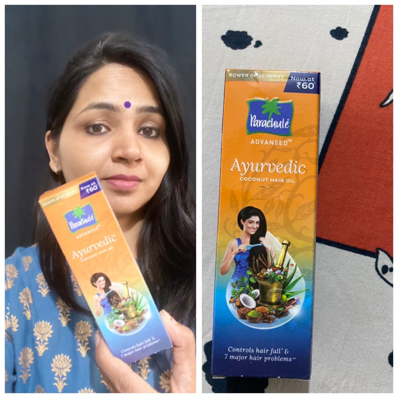 Parachute Advansed Ayurvedic Coconut Hair Oil pic 1-ONE OF BEST AYURVEDIC FORMULATION TO USE-By dr_archana_pandey_microbiologist