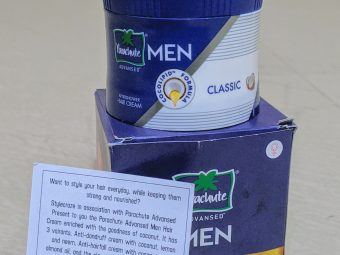 Parachute Advansed Men After Shower Hair Cream, Classic pic 1-Must Buy For Every Men-By nisarg_mehta