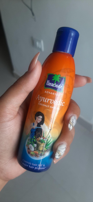 Parachute Advansed Ayurvedic Coconut Hair Oil -Makes my hair stronger-By tipti_mishra