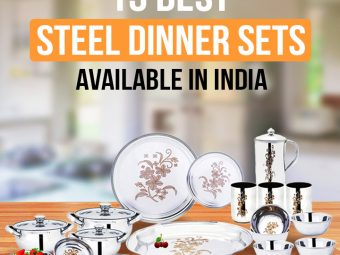 10 Best Steel Dinner Sets Available In India